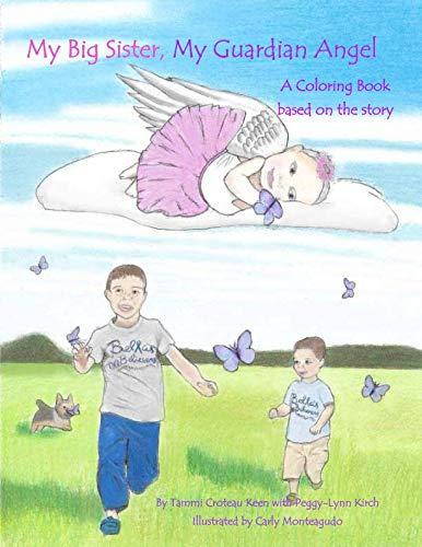 My Big Sister, My Guardian Angel Coloring Book