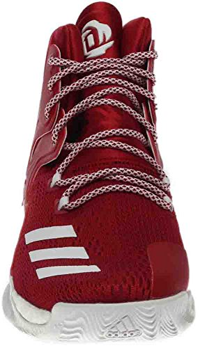 Adidas Sm D Rose 7 Ncaa Rood; Wit