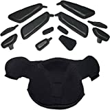 Leatt Winter kit GPX 5.5/6.5 Mask and vent blocks Adult Motorcycle Helmet Accessories - Black/One Size