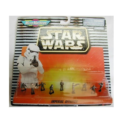 Star Wars Micro Machine Imperial Officers