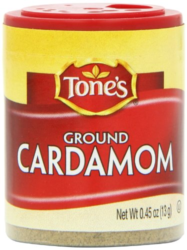 Tone's Mini's Cardamom, Ground, 0.45 Ounce (Pack of 6) by Tone's