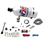 Nitrous Express 21000-10 35-150 HP Dry EFI Single Nozzle System with 10 lbs. Composite Bottle