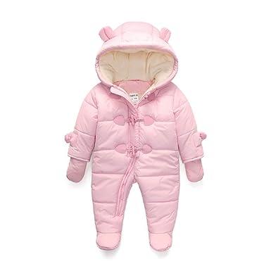 dc234a052d437 Mode Hiver bébé garçon Habit de Neige Mignon Infantile Neige Veste étanche  + Polaire épaissir Salopette