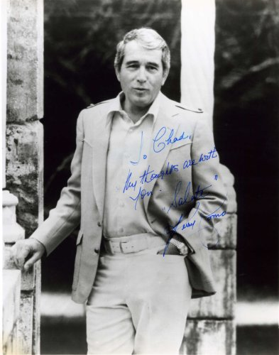PERRY COMO Hand Signed 8x10 - UACC RD#289 by Exczecher Memorabilia