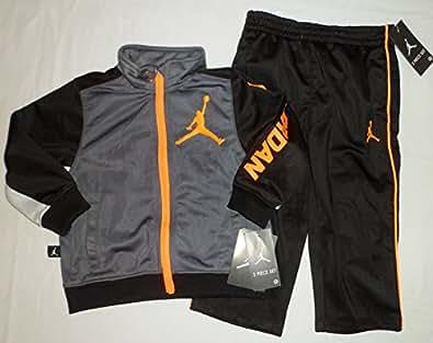 Amazon Com Nike Air Jordan Toddler Boys Jacket Tracksuit