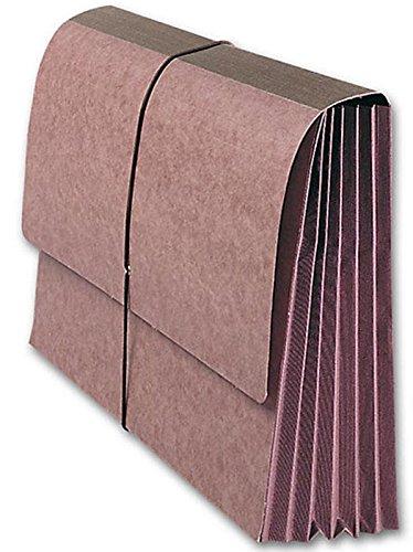 EGP Red Wallet Elastic Tie 5 1/4'' expansion pocket file