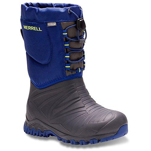 Merrell Snow Quest Lite WTRPF Waterproof Snow Boot (Littl...