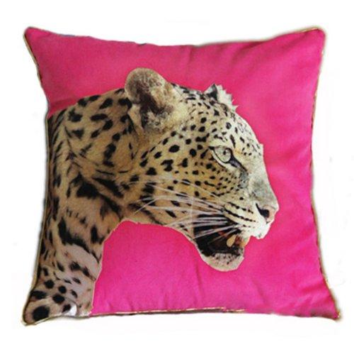 NAVA New Modern Blue Designer 3D Wild Animal Zebra Pop Art Decorative Pillow Case Cushion Cover Shams