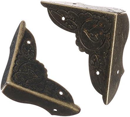 MYAMIA 30Pcs 40Mm 45Mm Vintage Decorativos Protectores De Esquina Soportes De Borde Cubierta Patr/ón De Aves-45Mm