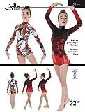 Jalie Rhythmic Gymnastics Ice Figure Skating Dress Costume Sewing Pattern 3356
