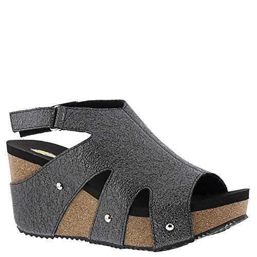 Volatile Spindle Women's Sandal 8 B(M) US Pewter (Upper Spindle)