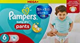 Pampers Baby-Dry Pants Gr.6, 16+kg, 76 Windeln, 1 Packung=1 Impfdosis