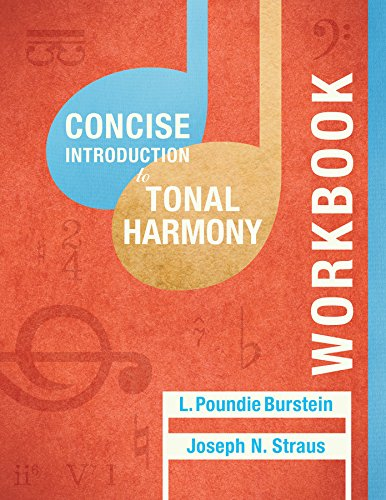 Student Workbook: for Concise Introduction to Tonal Harmony by W. W. Norton & Company