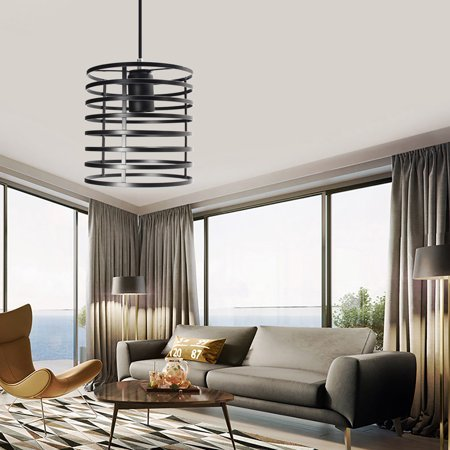 Hot Sale E27 Industrial Vintage Chandelier Ceiling Light Pendant Kitchen Bar Fixture Lamp