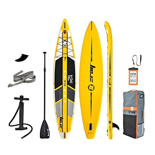 Zray R1 12'6'' Inflatable Stand Up Paddle Board Racing SUP 6'' Thick by Zray