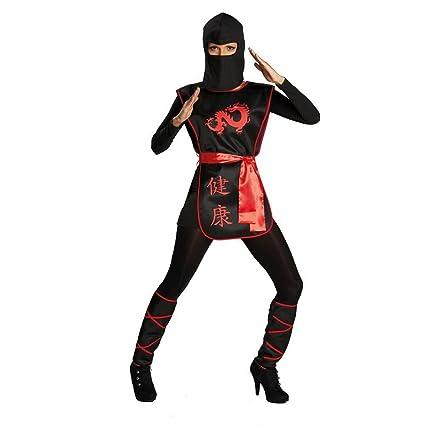 Disfraz - Ninja Kriegerin Talla 36: Amazon.es: Juguetes y juegos