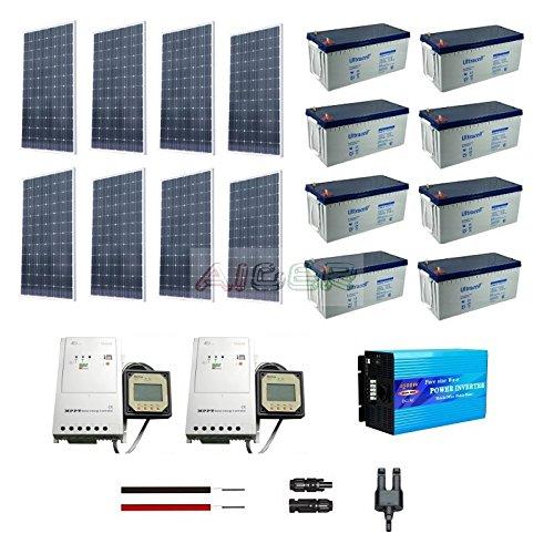 Kit fotovoltaico de 2 KW a 230 V