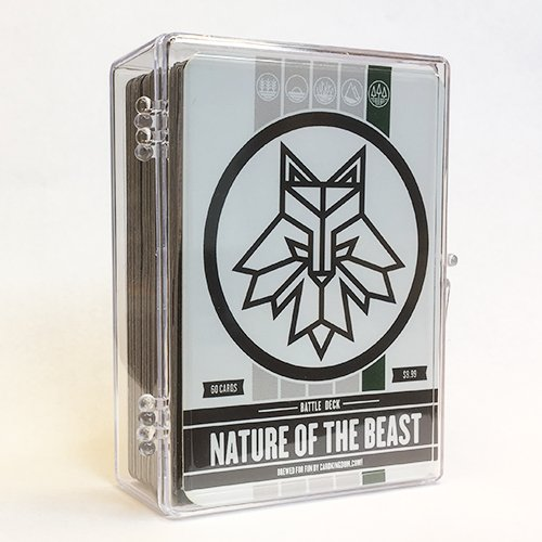 Nature of the Beast Battle Deck. Magic the Gathering MTG Preconstructed Green Deck. 60 cards.
