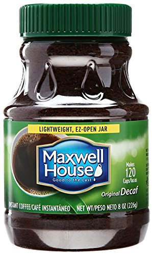 Maxwell Establishment Decaffeinated Instant Coffee, 8 oz
