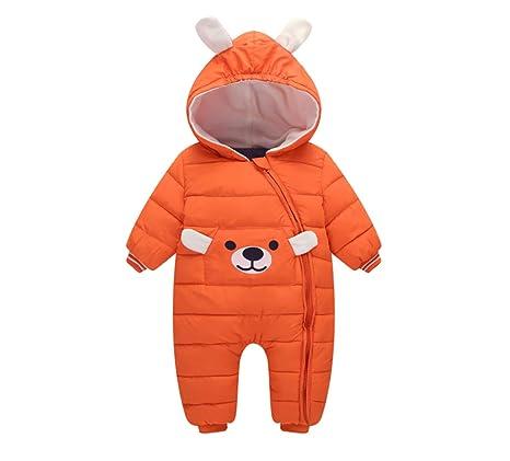 Trajes de bebe, niños y niñas, chaquetas de plumas, abrigo grueso, traje
