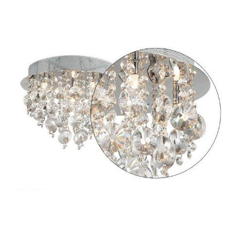 Fuloon Neu Modern Kristall Deckenleuchte Hngende Leuchte Licht Lampe Schlafzimmer Wohnzimmer Esszimmer Deckenleuchten Leuchten Pendelleuchte