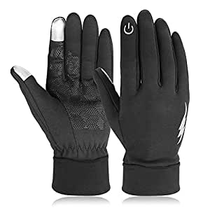 Touch Screen Gloves, HiCool Winter Gloves Driving Cycling Gloves Work Gloves for Men and Women L Size
