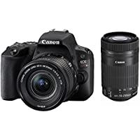 Canon EOS Kiss X9 Double Zoom Kit [Black](Japan Import-No Warranty)