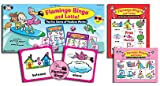 Super Duper Publications Pink Flamingo Bingo and Lotto Game of Position Words Educational Learning Resource for Children