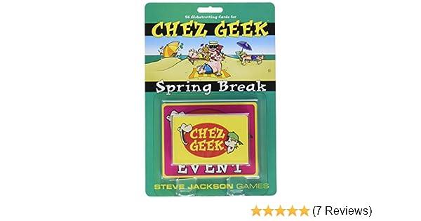 Steve Jackson Games Chez Geek Spring Break Game Publisher Services Inc PSI 1384SJG