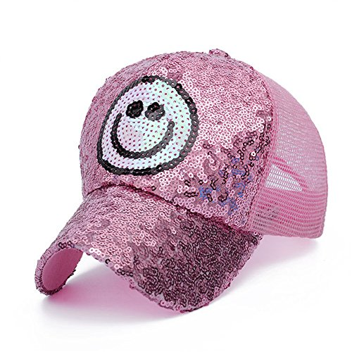 [Kindstore Beautiful Embroidery Sun Hat Cap Casual Embroidery Sequins Sun Cap Hat For men boys women] (Baseball Girl Costume)