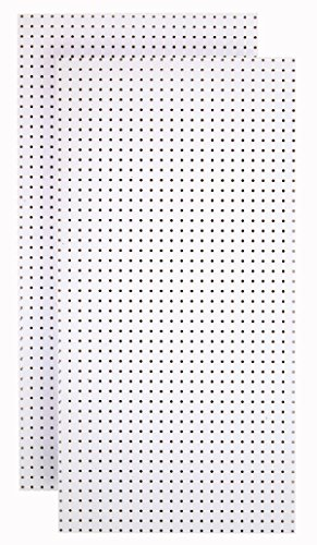 Triton Products HDW-2 (2) White Hdf Pegboards by Triton 2