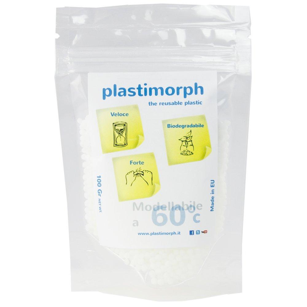 100Gr. Plastimorph - La plastica modellabile per le tue creazioni artistiche, il modellismo e il bricolage Makerable S.r.l.s.