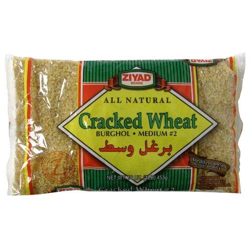 Ziyad All Natural Cracked Wheat Burghol Medium #2 (Pack of 2) -
