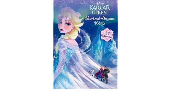 Disney Karlar ülkesibrçikartmali Boyama Kitabi 9786050918359