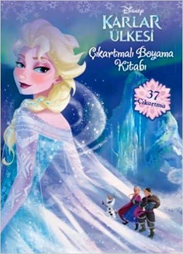 Disney Karlar Ulkesi Br Cikartmali Boyama Kitabi 9786050918359