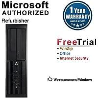 2018 HP PRO 4300 Small form factor desktop computer(intel core i3 3220 3.3GHZ, 8G DDR3 Ram, 120GB SSD+500GB HDD, external DVD-ROM, WIFI, Windows 10 Pro 64-Bit) (Certified refurbishd)