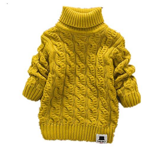 Yellow Kids Sweater - 4