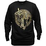 Crooks & Castles 2 Faced Medusa Sweatshirt Black