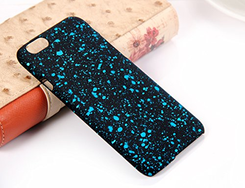 Jewelrywe Senza fine Universo con Cielo stelle blu Snap On Hard Back Case Cover protezione Skin per Apple iPhone 6 (4.7-inch)