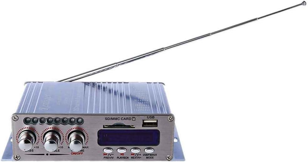 Morza Estéreo Kentiger HY-502S 2CH Altavoz Hi-Fi Bluetooth Super Bass USB Power Amplificador Digital/SD Card Radio FM del Jugador