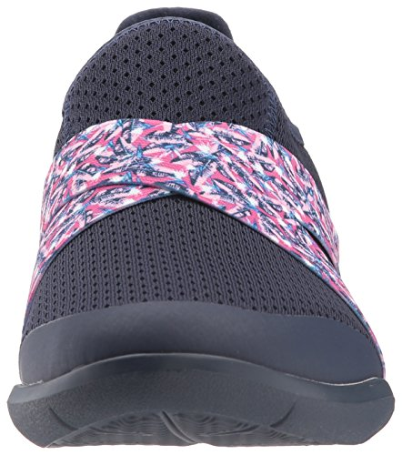 Crocs Femme Swiftwater Croix-sangle Slip Sur Bleu Marine / Bleu