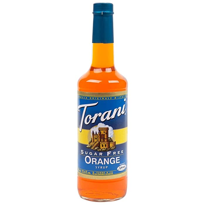 Top 10 Orange Flavored Beverage Syrup