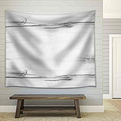Wood Texture Background Old Panels - Fabric Wall Tapestry Home Decor - 68x80 inches
