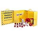 ZING 2722 RecycLockout Lockout Cabinet with Aluminum Padlocks - Stocked