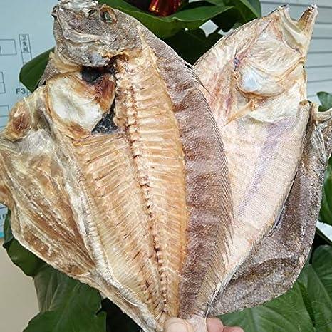"Amazon Com Greenlike Natural Dried Flounder Fish Ť§åœ°é±¼ Ư""目鱼 1 6 Grocery Gourmet Food"