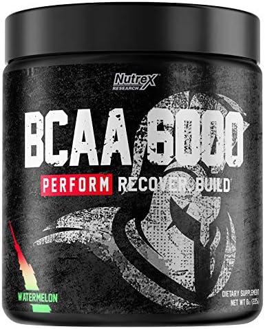 Nutrex Research BCAA 6000 (30 serv) 1 Unidad 260 g: Amazon.es ...