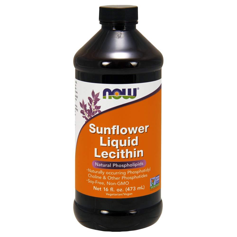 Now Sunflower Liquid Lecithin, 16-Ounce