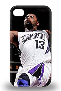 High Quality NBA Sacramento Kings Tyreke Evans #13 Case For Iphone 4/4s Perfect Case