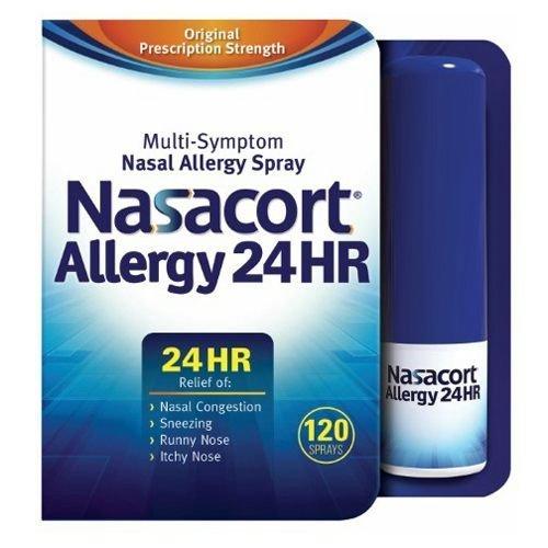 Nasacort Allergy 24 Hour Spray , 120 Sprays 0.57 fl oz by - Pacific Mall Hours