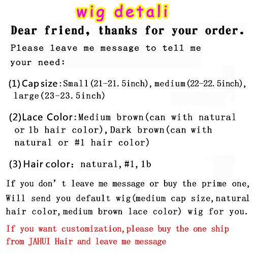 JAHUI Hair 8A Full Lace Human Hair Wigs for Black Women Wet Wavy Brazilian Virgin Hair Glueless Lace Front Wig with Baby Hair (12inch with 130% density, Full Lace wigs) by JAHUI Hair (Image #7)